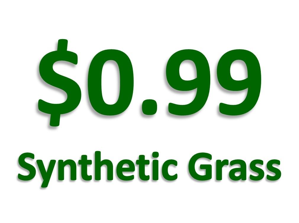 $0.99 Synthetic Turf