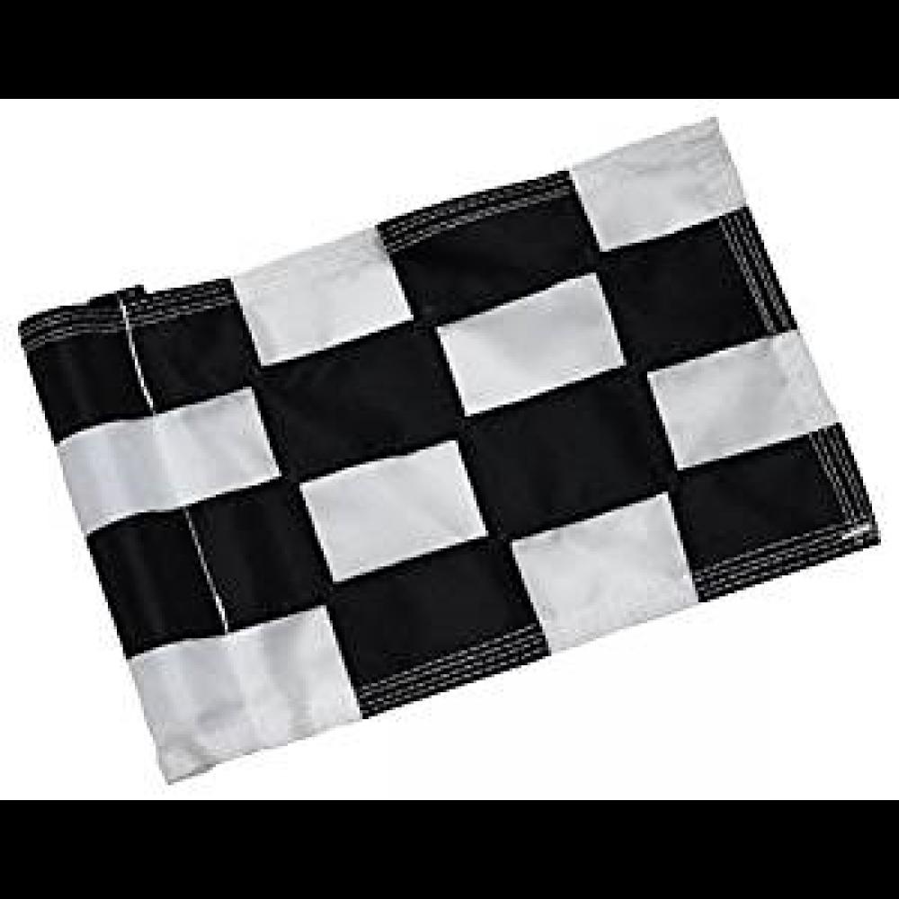 Checkered Flag Black & White Large