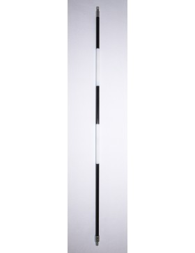 Black/White Stripe Stick