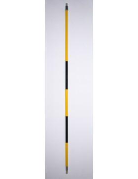 Black/Yellow Stripe Stick